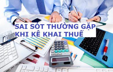 24 lỗi sai thường gặp khi làm báo cáo thuế GTGT